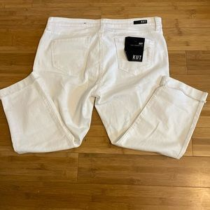 Kut from the Kloth Amy crop straight leg NWT